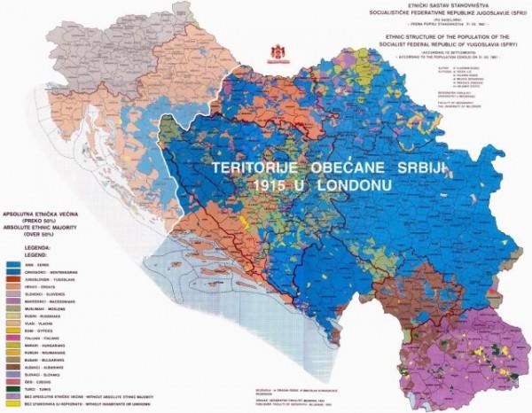 """mapa kraljevine srbije KAKO SMO 1915. ODBILI """"VELIKU SRBIJU"""": U ARHIVI SANU PRONAĐENI  mapa kraljevine srbije"""