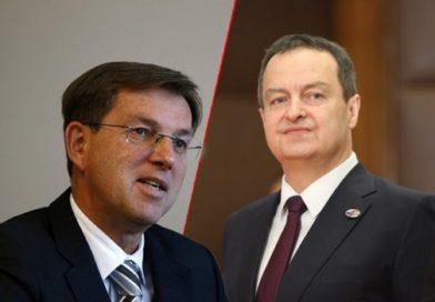 Cerar tražio od Srbije da se izjasni da li je za EU ili Rusiju, Dačić mu ekspresno odgovorio: Laktao da ugosti Putina, a sad nas proziva