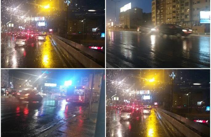 Grmi, seva, spojili se nebo i zemlja: Jako nevreme pogodilo Beograd, bežite sa ulica