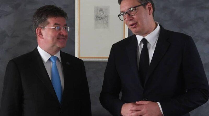 Vučić završio sastanak sa Bramercom počeo razgovor sa Lajčakom