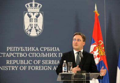 Selaković danas sa generalnom sekretarkom OEBS Helgom Šmid